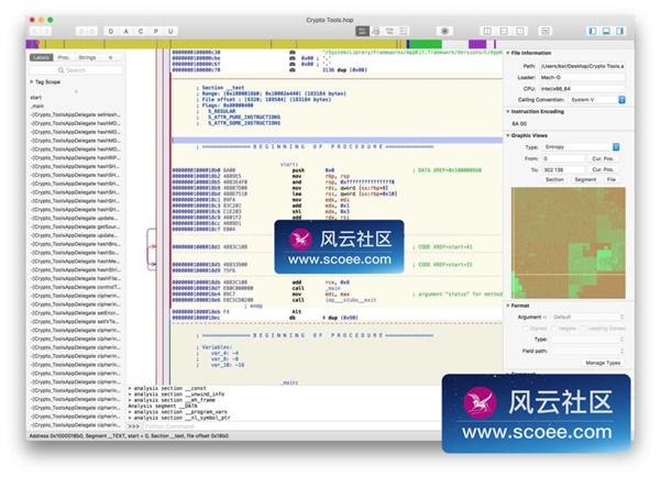 Hopper Disassembler v4 for Mac 4 0 8 下载– 强大的二进制反